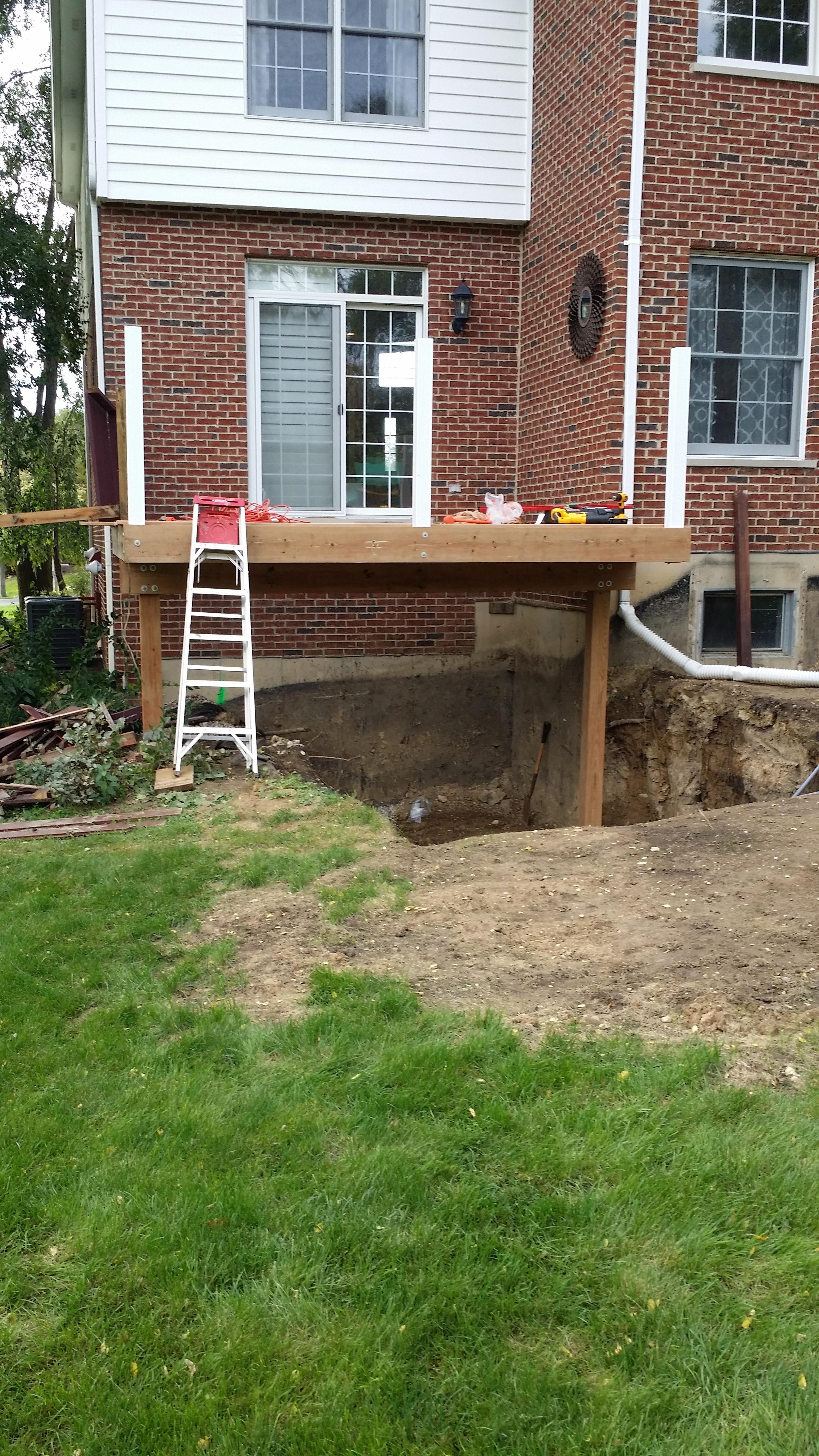 Excavation for Lower Doorway